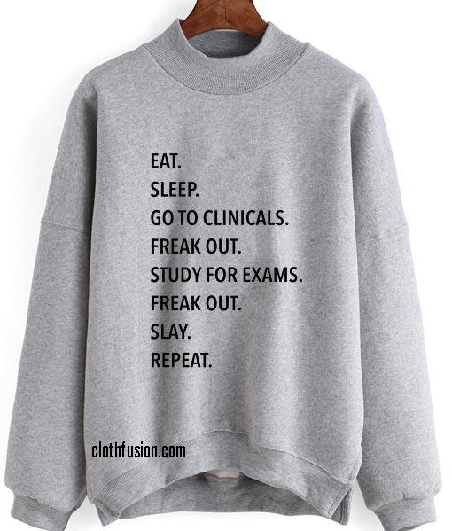 Clinical Sweatshirt Nursing Student Sweatshirts