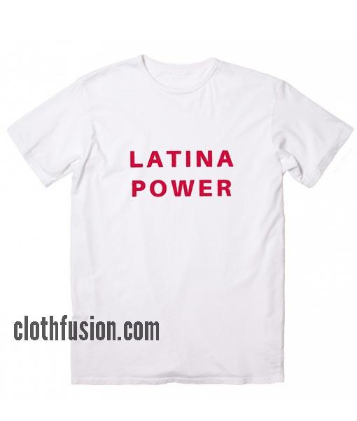 Latina Power WH T-Shirt
