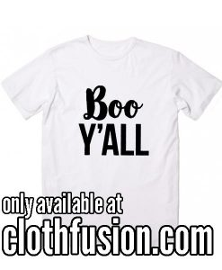 Boo Y'all Women's Halloween T-Shirt