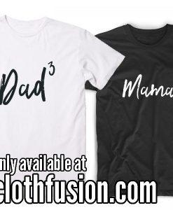 Baby 3 announcement T-Shirt