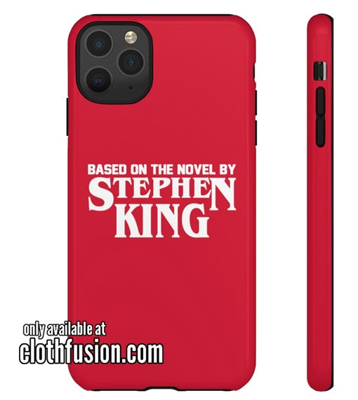 Based On The Novel By Stephen King IPhone Case