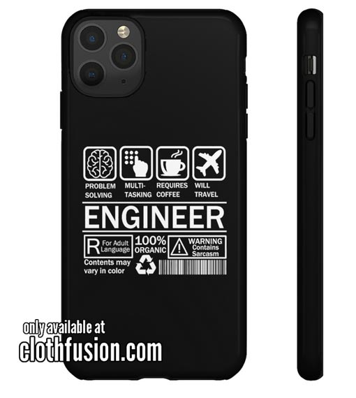 Engineer Definition iPhone Case