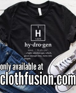 Hydrogen Meaning Funny Christmas T-Shirt
