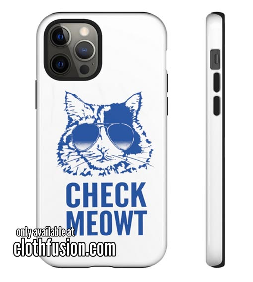 Check Meowt iPhone Case