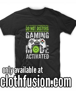 Gaming Mode Activated Camiseta T Shirt