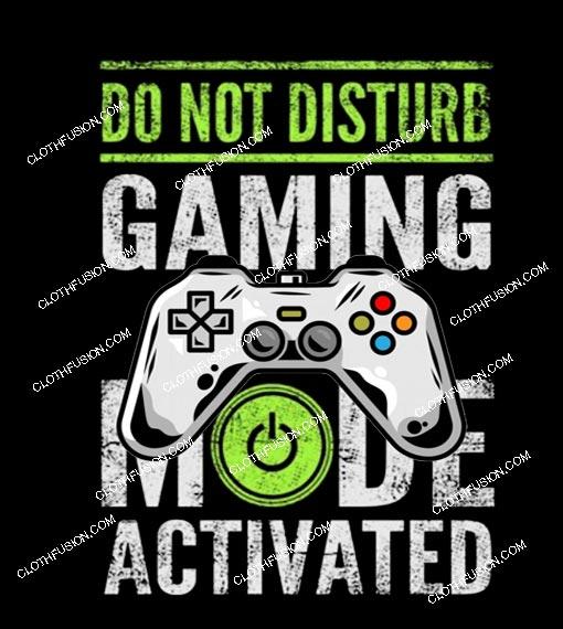 Gaming Mode Activated Camiseta T Shirt