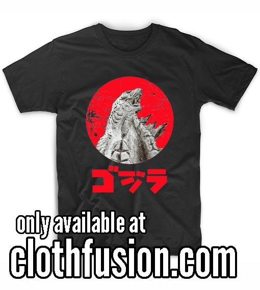Godzilla Action Movie Godzilla Vs Kong Funny T-Shirt