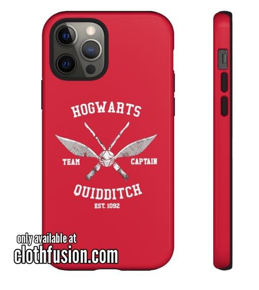 Hogwarts Quidditch iPhone Case
