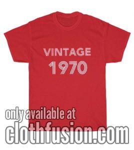Vintage Men's T-shirts