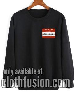 Funny Clive Bixby Vintage Sweatshirt