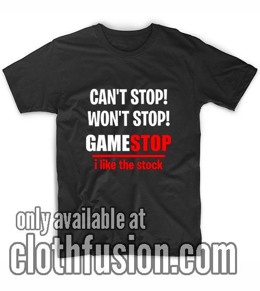 Gamestop Stock Shirts