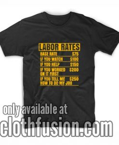 Labor Rates Hourly