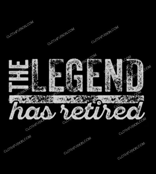 The Legend Has Retired Vintage T-Shirt