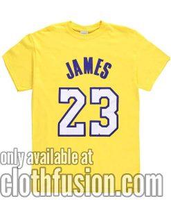 James 23 Tshirts