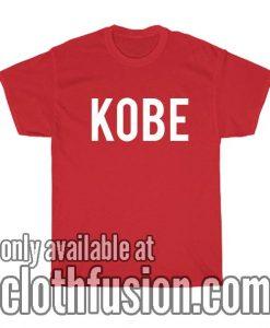 Kobe Name Jersey T-Shirt