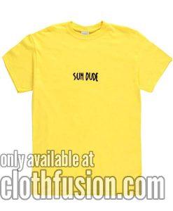 Suh Dude Yellow Tshirts