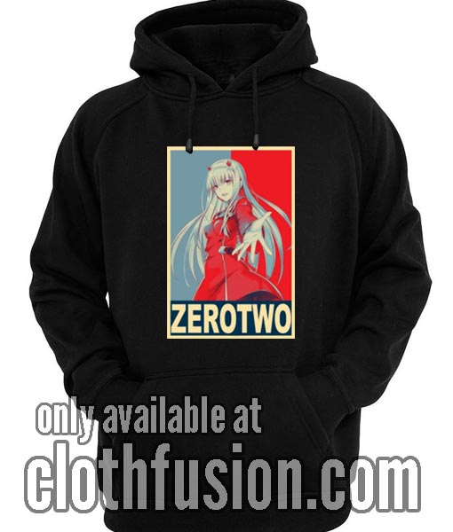 Zero Two Poster Hoodies