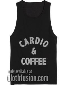 Cardio And Coffee Tank top