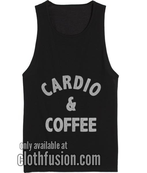 Cardio And Coffee Tank top
