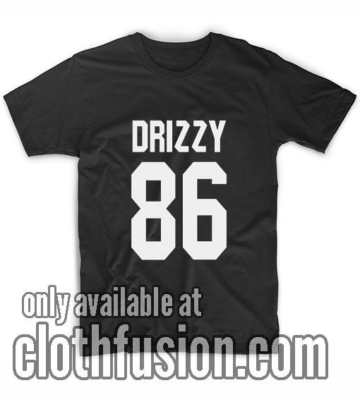 Drake Shirt DRIZZY 86 T-Shirts