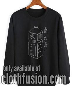 Japanese Water Bottle Sweatshirt