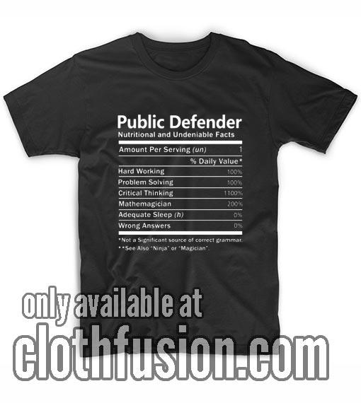 Public Defender T-Shirts