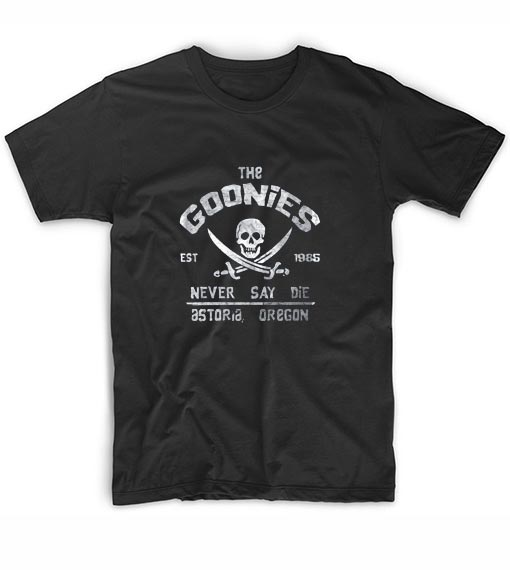 The Goonies Never Say Die T-Shirts