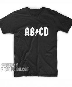AB CD Funny T-Shirts