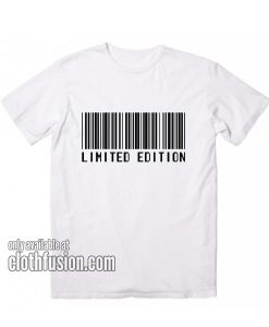 Barcode Limited Edition T-Shirts