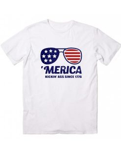 Merica Since 1776 July 4th T-Shirts