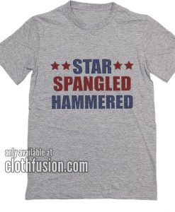 Star Spangled Hammered 4th of July T-Shirts