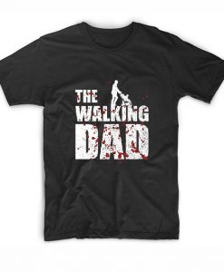 The Walking Dad Mens I Father's Day T-Shirts