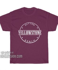 Yellowstone Dutton Ranch T-Shirts