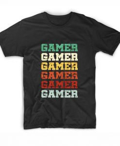 Awesome Retro Vintage Video Gamer T-Shirts