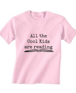 All The Cool Kids are Reading Short Sleeve Unisex T-Shirts
