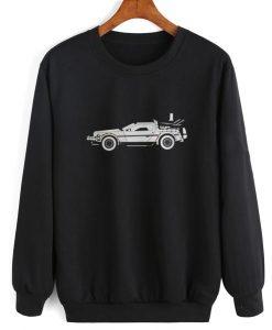 Delorean DMC Back to the Future Sweatshirt