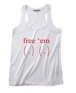 Free Em Tits Tank top