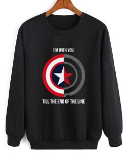 I'm With You Till The End Of The Line Sweatshirt