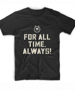 Marvel Loki For All Time Always T-Shirts