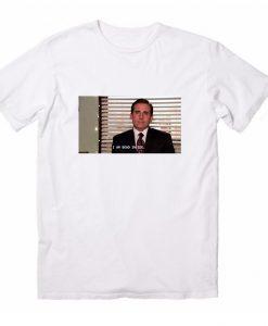 Office The TV Show Michael Scott Dead Inside T-Shirts
