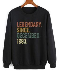 Vintage December 1993 Sweatshirt
