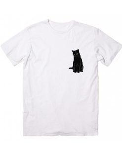 Black Cat Short Sleeve Unisex T-Shirts