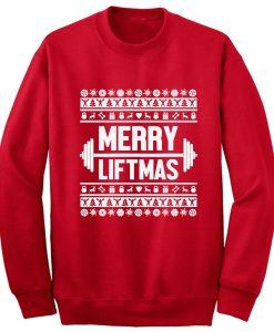 Merry Liftmas Ugly Christmas Sweatshirt