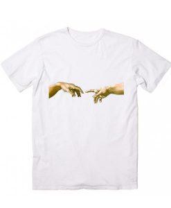 Touch of God Short Sleeve Unisex T-Shirts