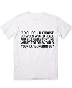Will Ferrel Quote Funny Short Sleeve Unisex T-Shirts