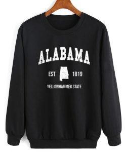 Alabama Est 1819 Crewneck Sweatshirt