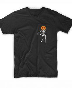 Dancing Skeleton Short Sleeve T-Shirts