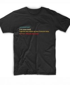 Funny Accounting Specialist Graphic Tee