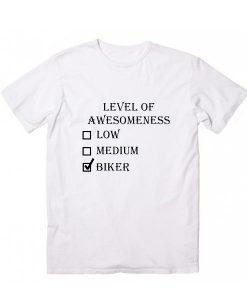 LEVEL OF AWESOMENESS BIKING