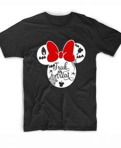 Minnie mouse halloween shirt Short Sleeve T-Shirts